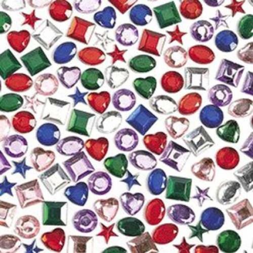 5 in self adhesive jewels kids crafts bag